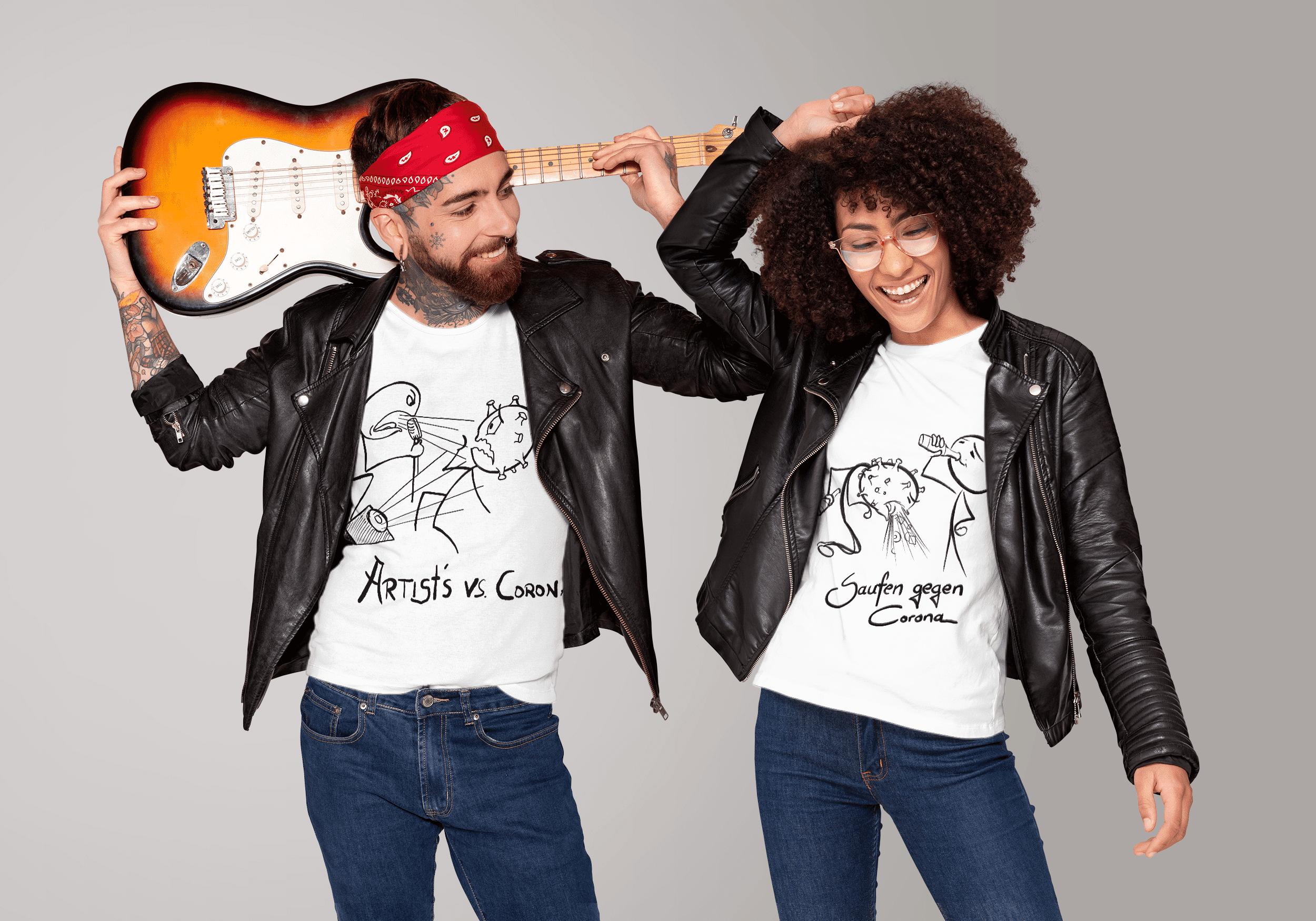 Artists vs. Corona Merchandise